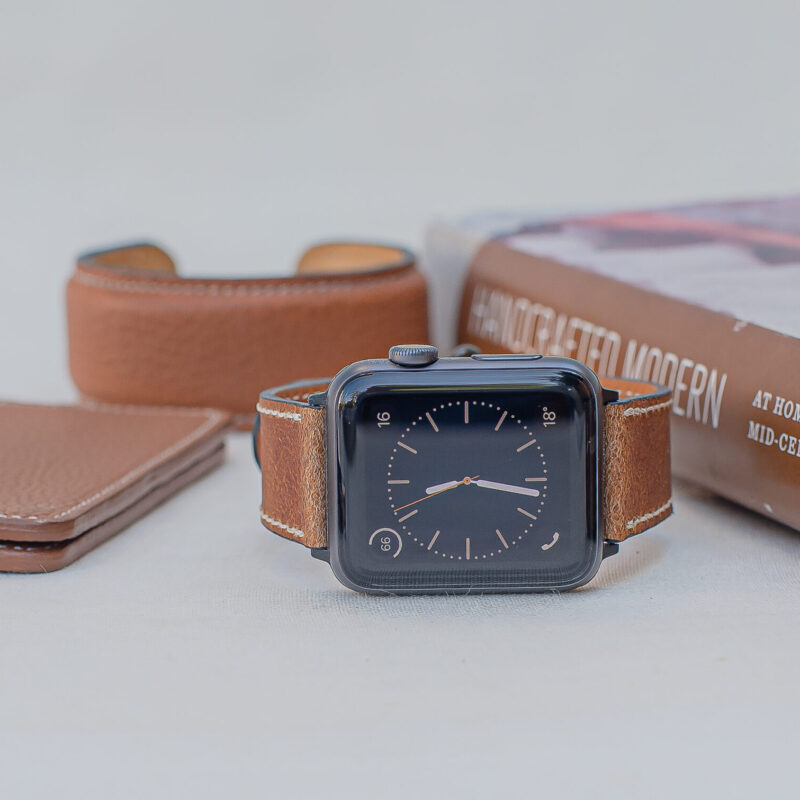 apple, watchband, cupertino, finest, leather, strap