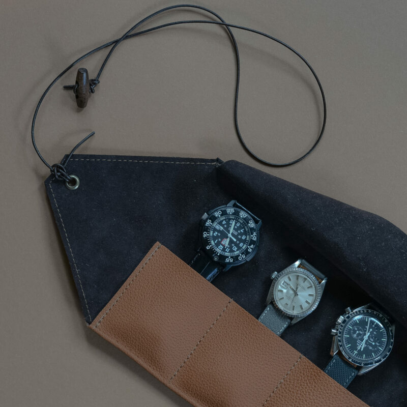 watchroll. watchcase, finestleather, protection