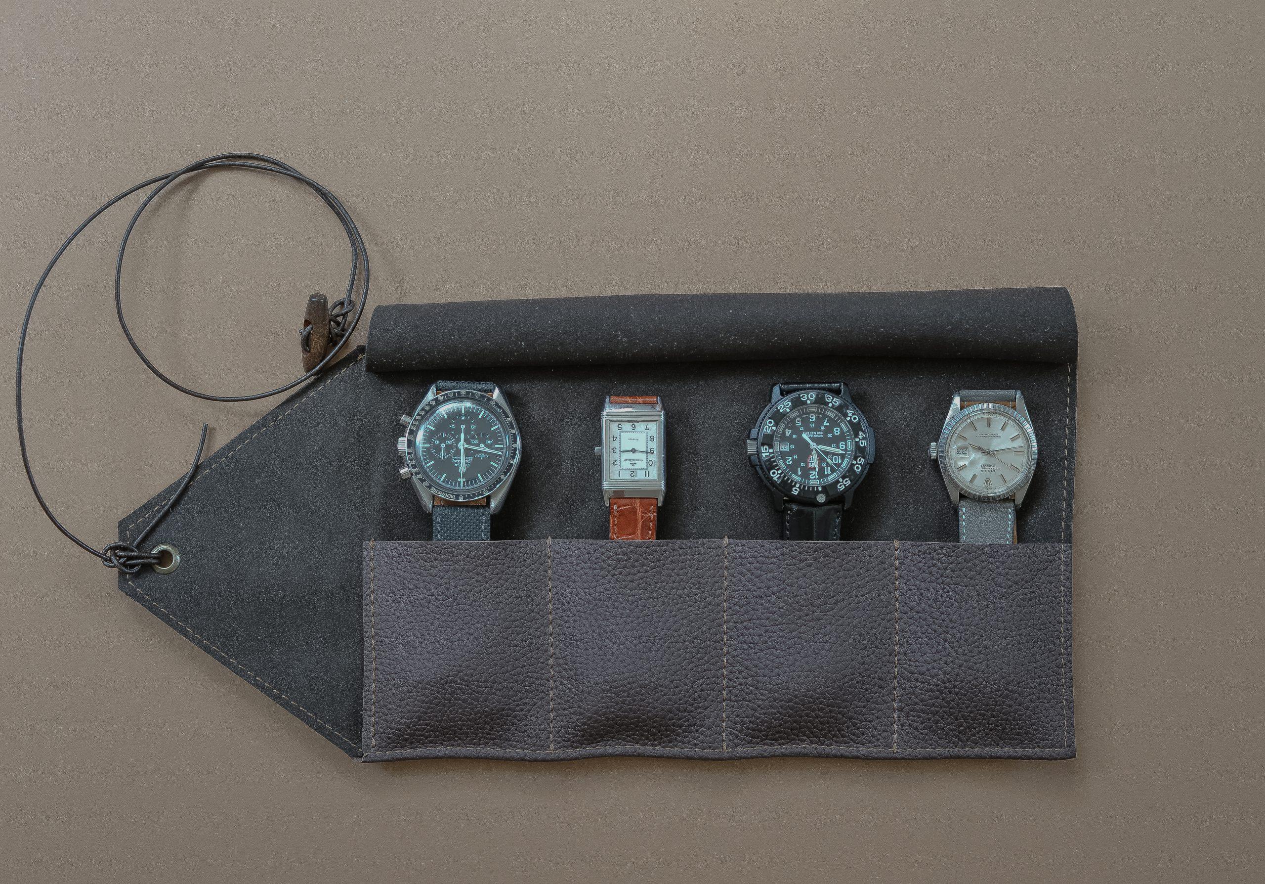 watchroll, roll, watches, vintage, collector, watchband, watchstrap, handmade, germany, handarbeit